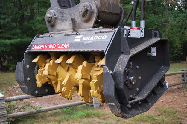 Bradco Ss Mulcher Ii Mm72 Paladin Attachments