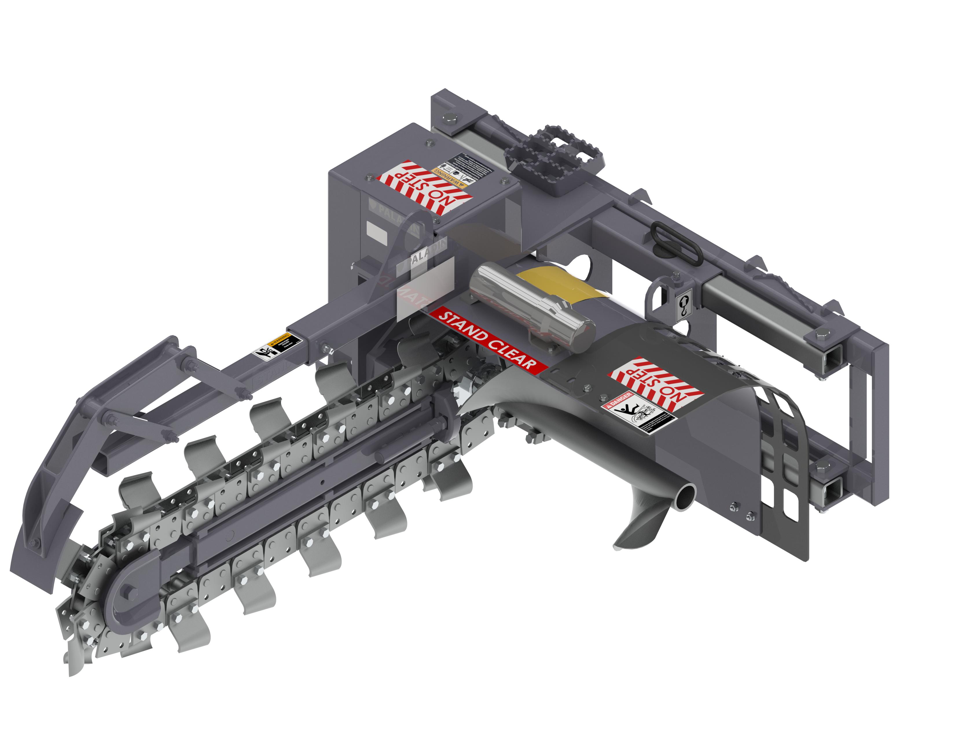 625 Model Trencher