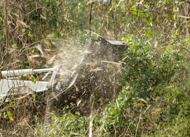 MX Brush Cutter in action 2