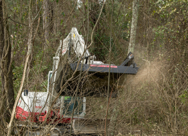 MX Brush Cutter in action 3