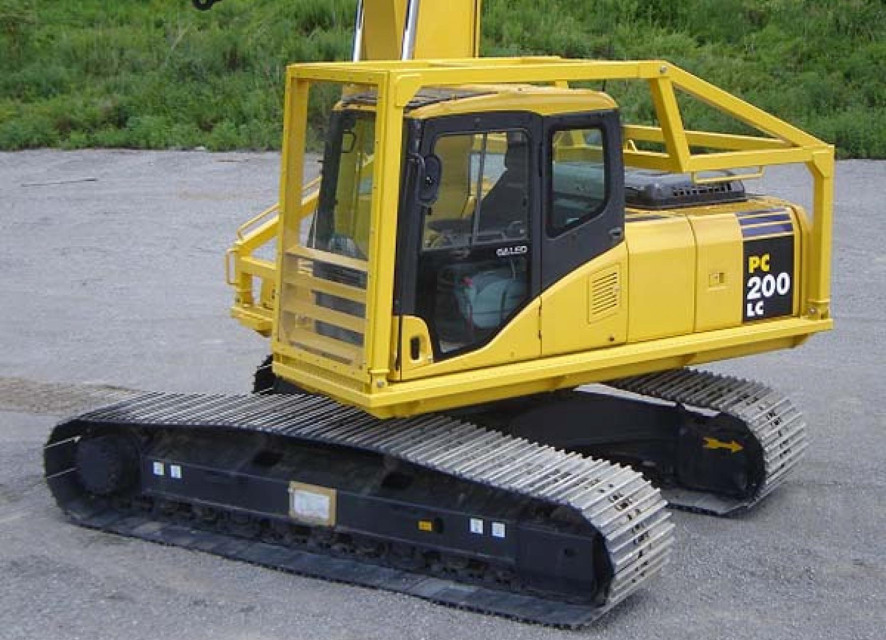 road builder guard excavator paladin attachments