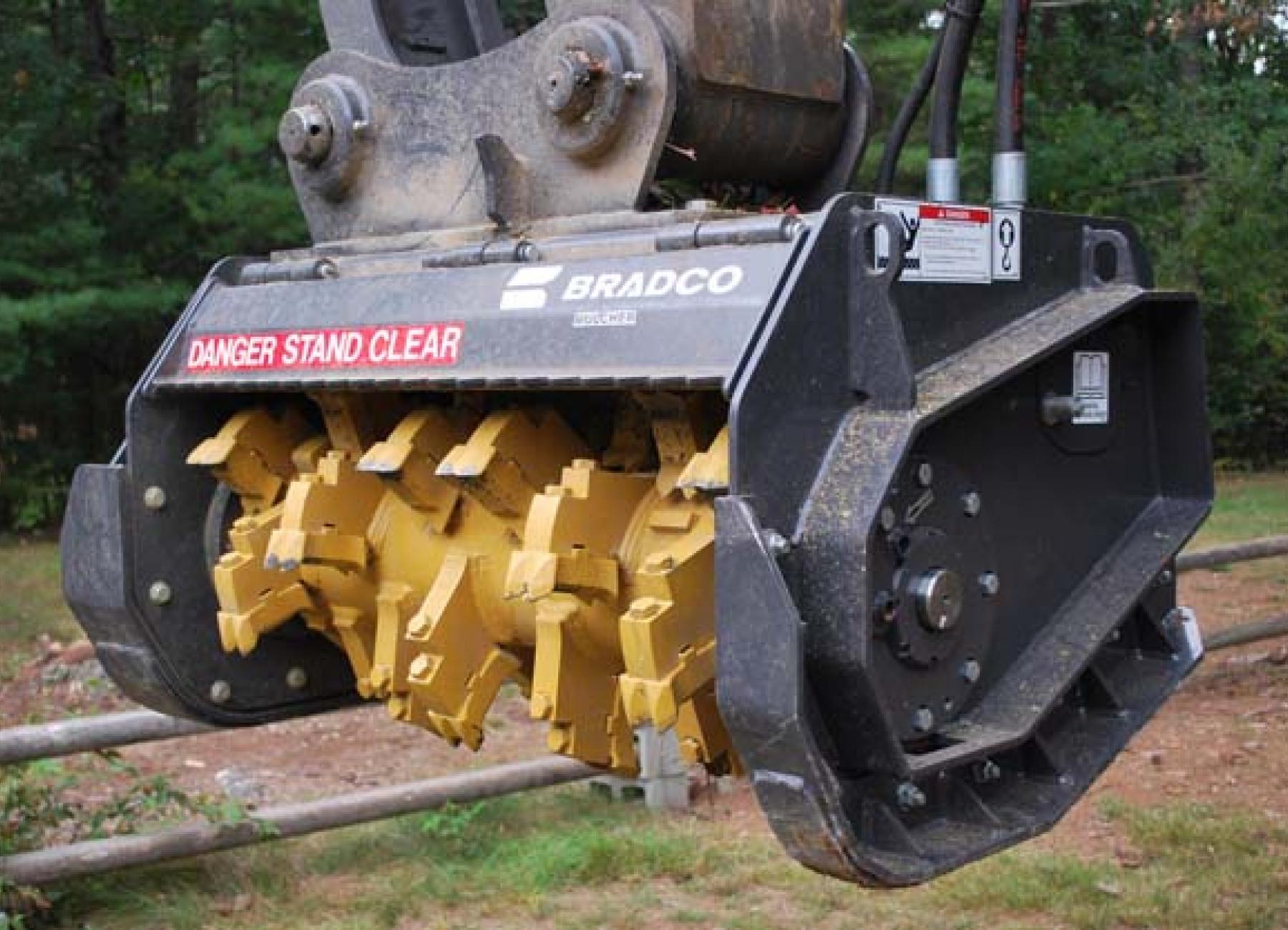 Mini Forestry Mulcher For Tractor