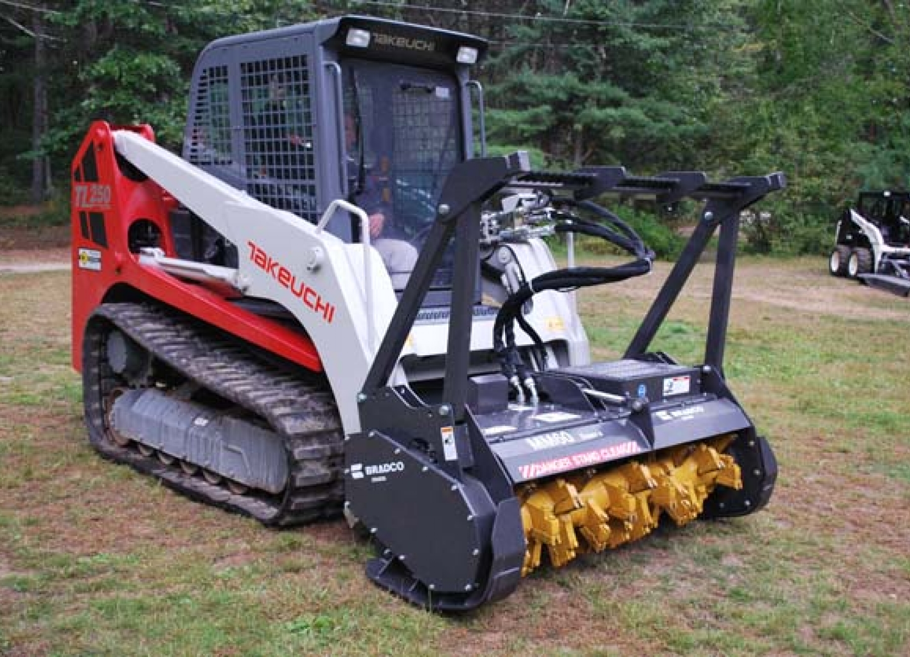 Bradco SS Mulcher II MM72 | Paladin Attachments